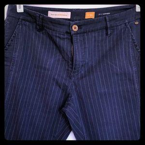 Pilcro and the Letterpress Hyphen pinstripe pants
